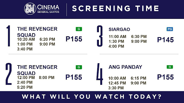 Siargao, to be shown at SM Cinema in GenSan