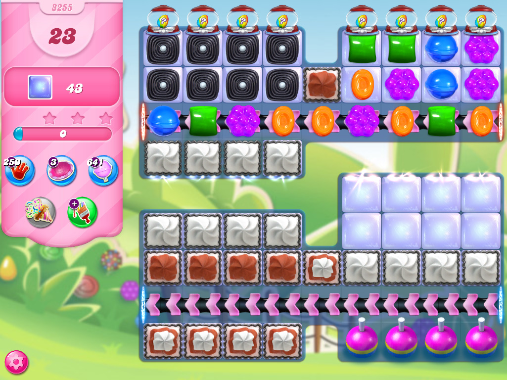 Candy Crush Saga level 3255