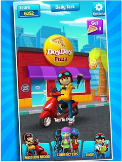 Subway Scooter Free - Run Race v2.4.4 Apk Mod (Unlocked)