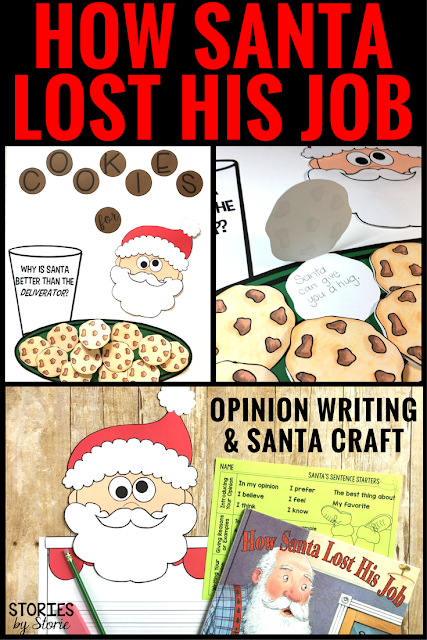 Can you imagine what would happen if Santa lost his job? Stephen Krensky has done just that with How Santa Lost His Job. Here is an opinion writing activity and craft you can use with your students after reading this book.