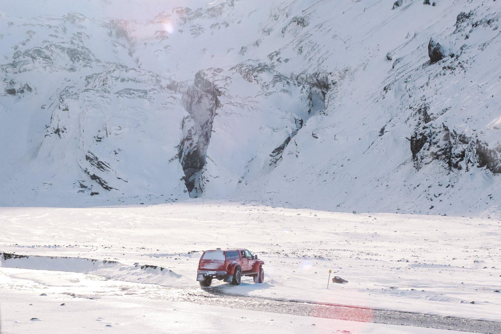 Thorsmork en invierno