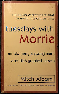 Book cover of Tuesday with Morrie
