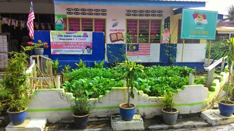 Kebun Dapur Tabika Kemas Talang Hilir Kuala Kangsar