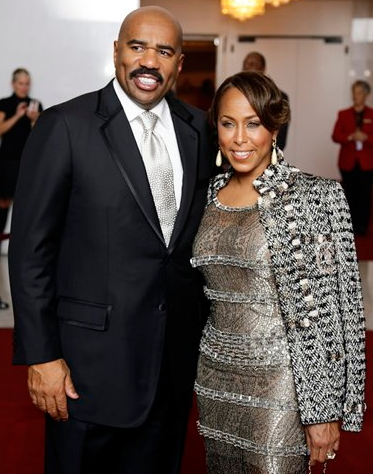 steve harvey wife marjorie