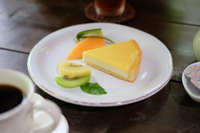 森カフェ たび茶 レモンクリームのタルト