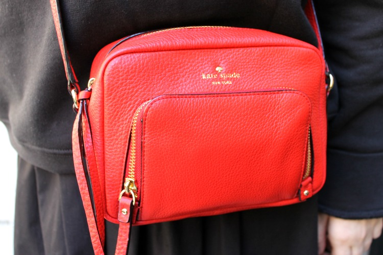 A Vintage Nerd Classic Handbag Recommendations Kate Spade Red Crossbody
