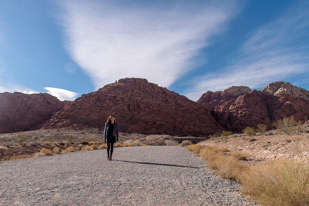 visiting the red rock canyon and vegas in nevada