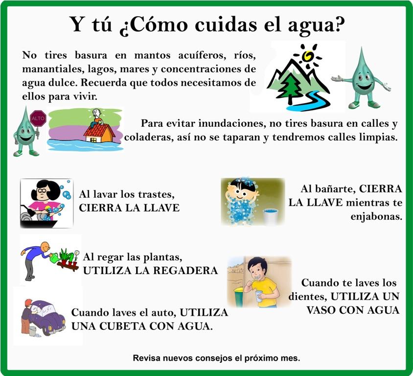 Leer es una tarea facil proyecto de aula enfocado a la for Cosas para ahorrar agua