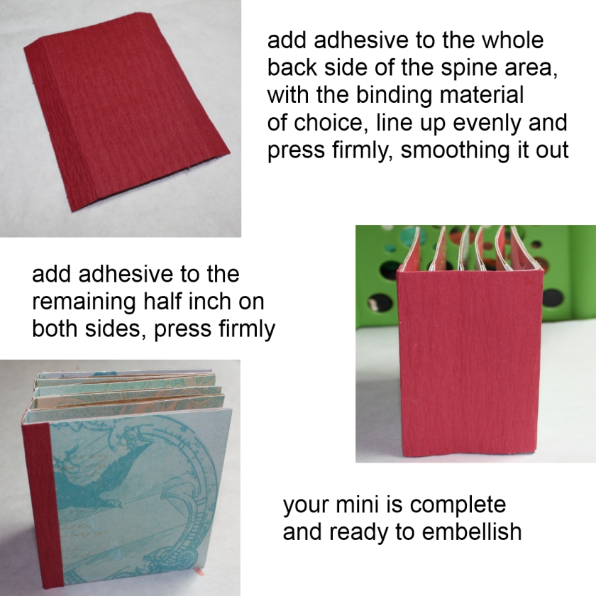 The Paper Variety: Tutorial: Make & Bind A Mini Album By