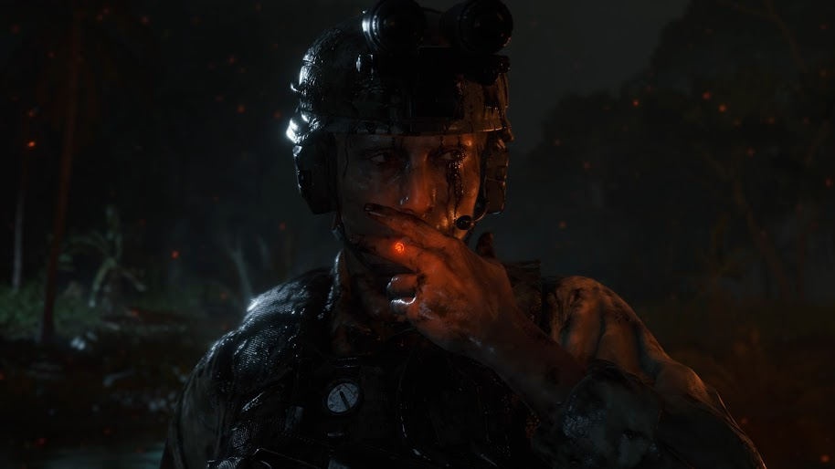 Death Stranding Cliff Smoking Mads Mikkelsen 4k Wallpaper 36
