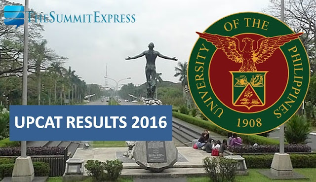 UPCAT Results AY 2016-2017 now available online