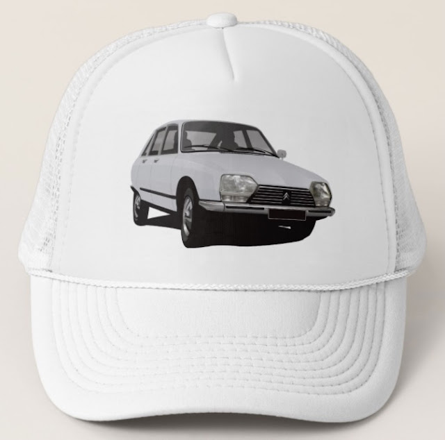 Citroen GS trucker hats