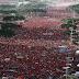 VÍDEO: Impactante - 1 millon 500 mil chavistas marchan ante amenaza de golpe inminente