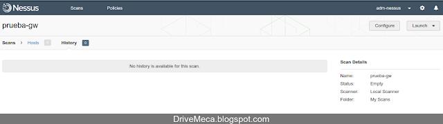 DriveMeca instalando y configurando Nessus en Linux Ubuntu