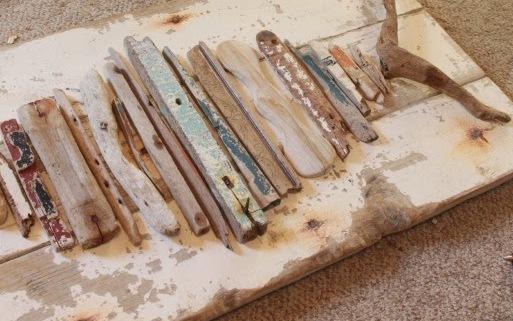 DIY Διακοσμητικά τοίχου από Θαλασσόξυλα