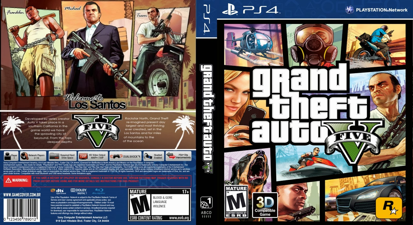 Gta 6 Cover: Mega Covers: CAPA GRAND THEFT AUTO V