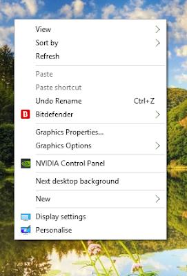cara memperbaiki membetulkan windows yang logo aplikasinya membesar gimana