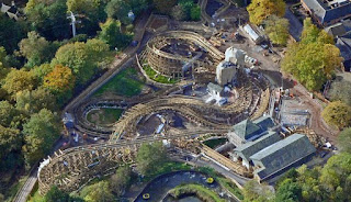 New Roller Coaster at Alton Towers