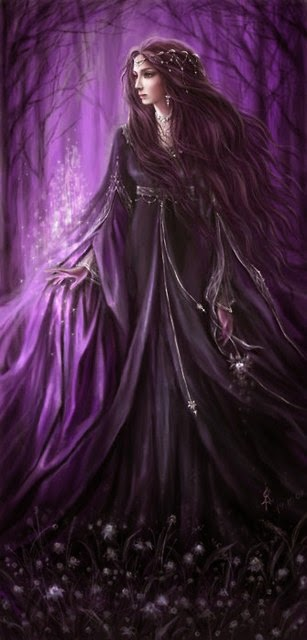 Lady of the Magick Purple Forest!