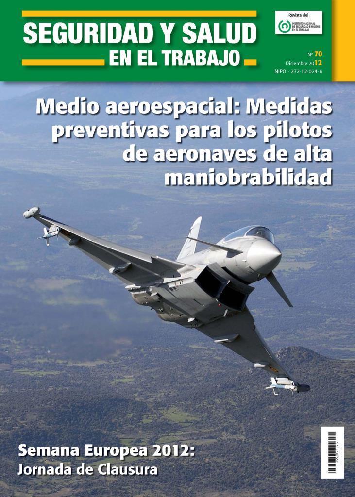 Medio aeroespacial: Medidas preventivas para los pilotos de aeronaves de alta maniobrabilidad