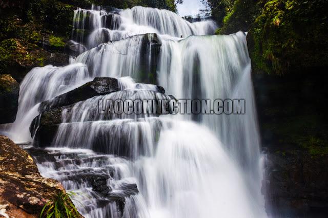 Tat Ta Jet Waterfall Champassak Laos