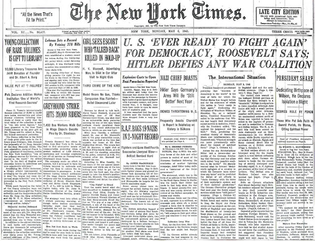New York Times 5 May 1941 worldwartwo.filminspector.com