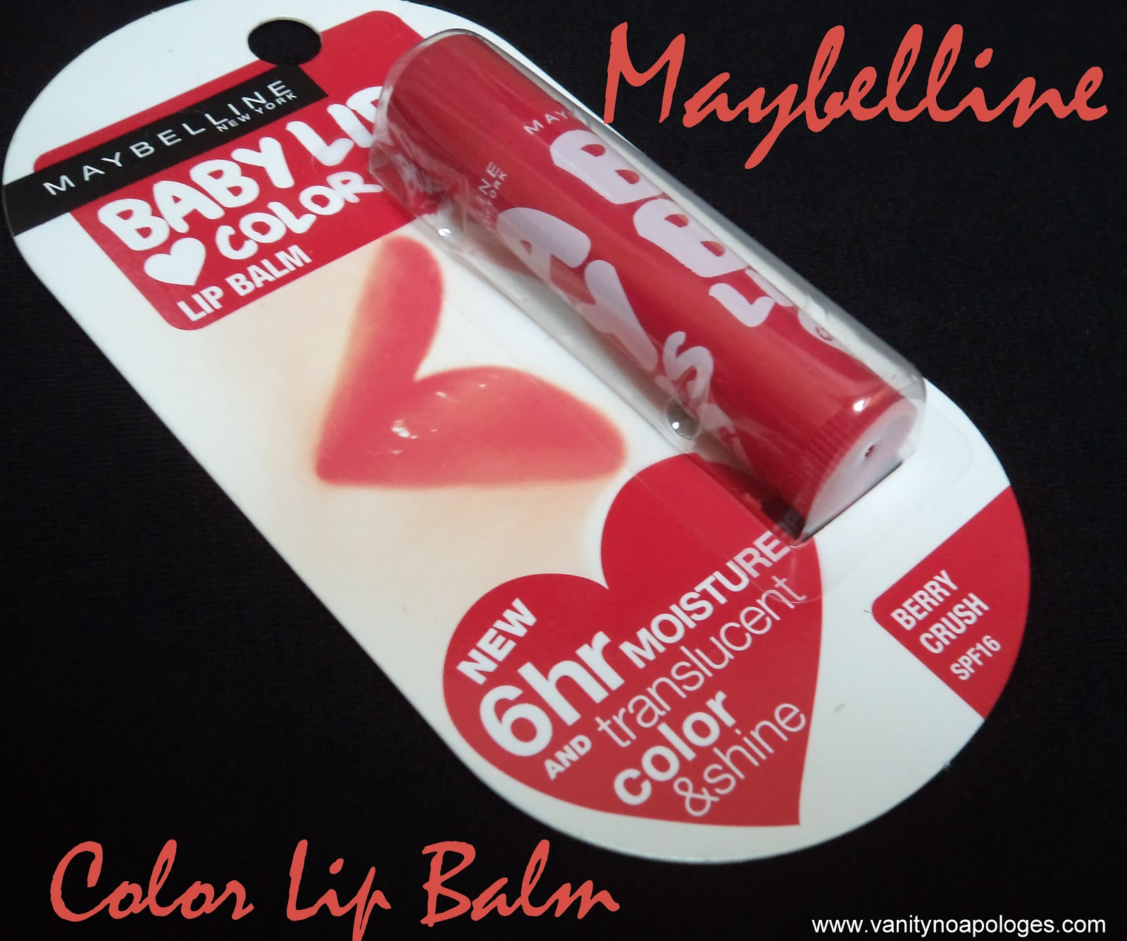 Maybelline Baby Lips Berry Crush Review Swatches