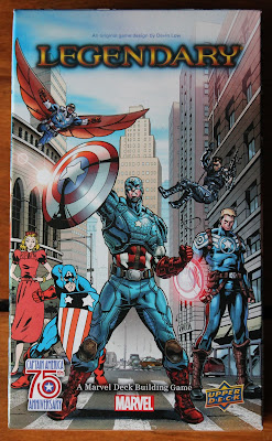 Marvel Legendary Captain America 75th Anniversary - box art