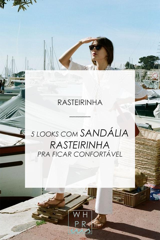 #blog #streetstyle #estilo #sandalia #rasteirinha #JeanneDamas #rouje