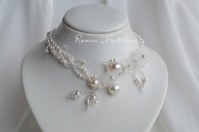 bijou mariée romantique
