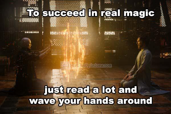doctor strange movie meme
