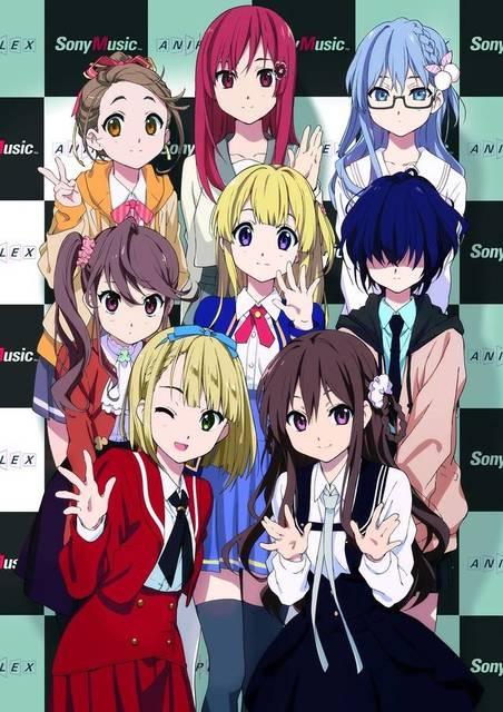 22 7 anime karakter idol group