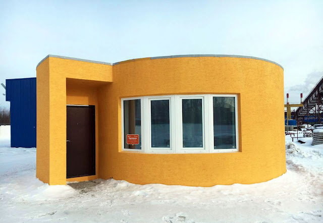 This company 3D printed the entire house in just 24 hours at an affordable price of $10,134.