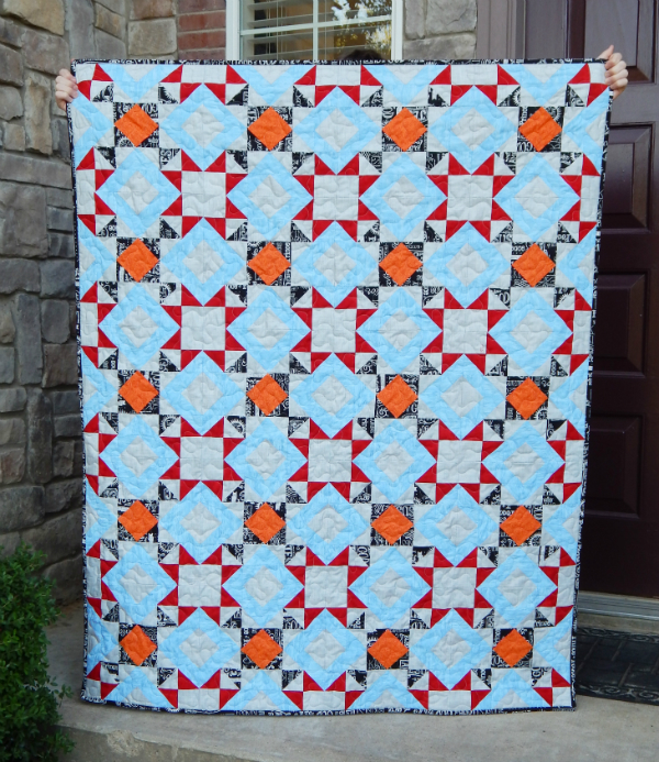 Shannon's Just the Basics Quilt | DevotedQuilter.blogspot.com