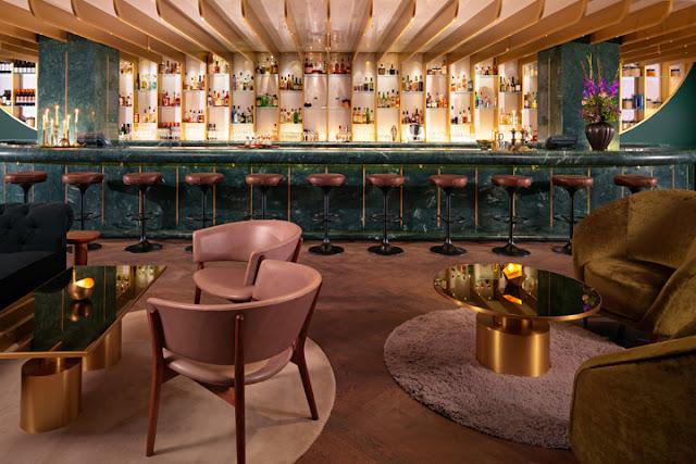 interior design of bars, bar design, london design scene, interiors blogger, hello peagreen