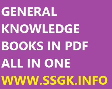 General Knowledge Books In Pdf