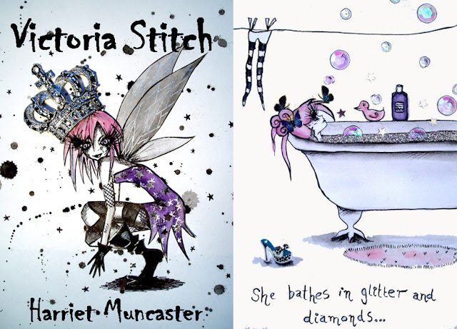 The story of Isadora Moon begins with Victoria Stitch