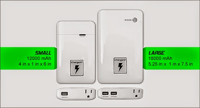 ChargeAll : portable super charger with ac wall oulet
