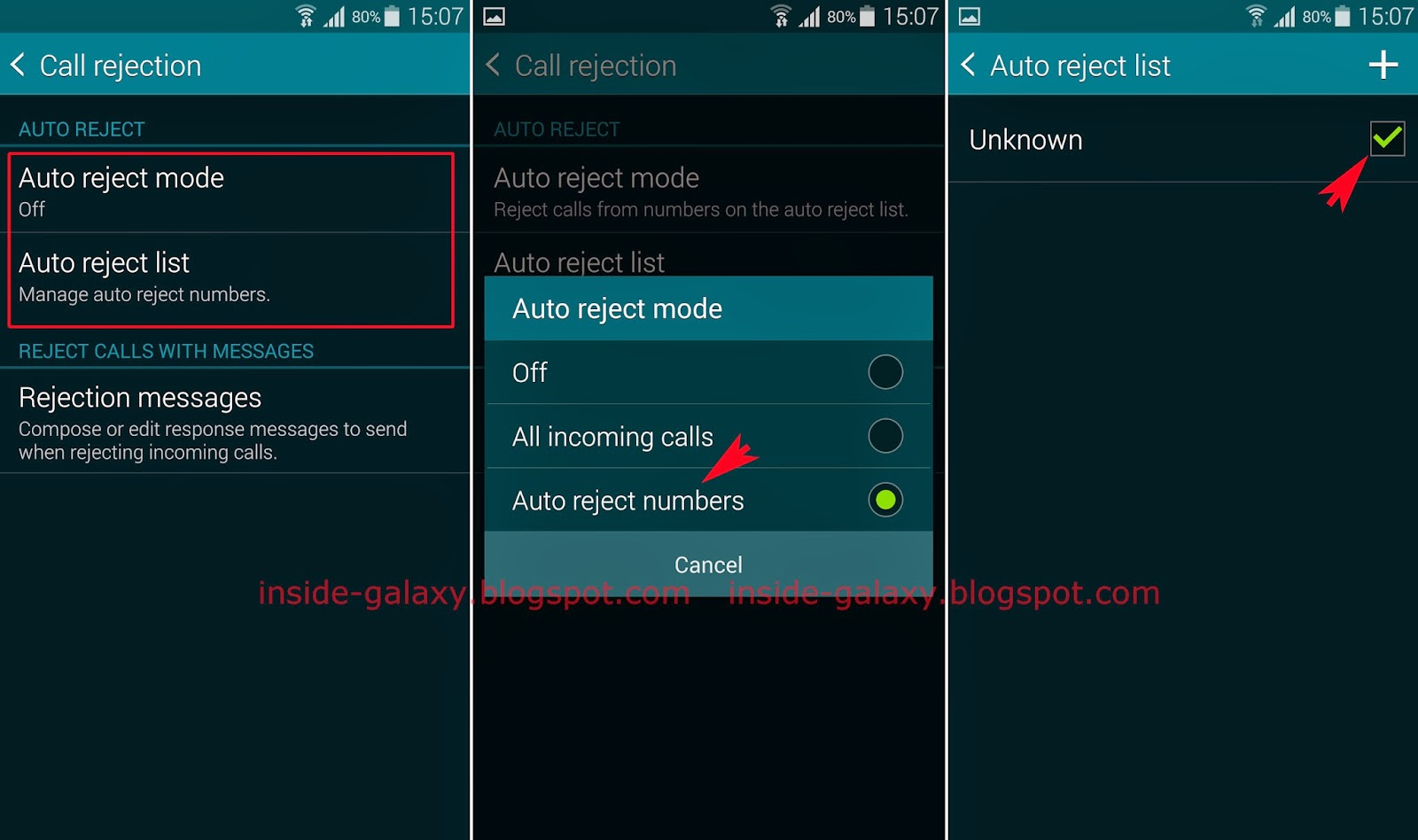 Samsung Galaxy S5: How to Block Unwanted or Unknown Calls ...