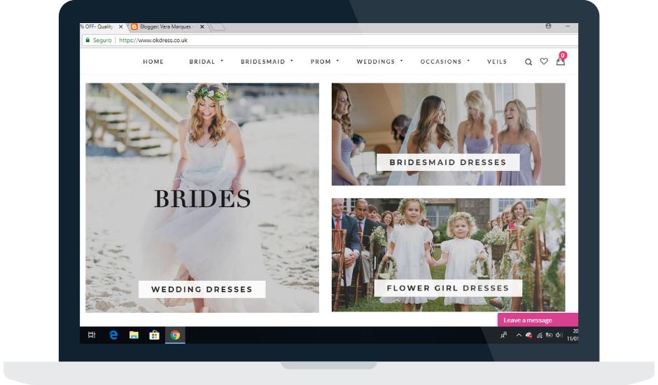 OkDresses, a melhor loja online para comprarem o vosso vestido para festas!