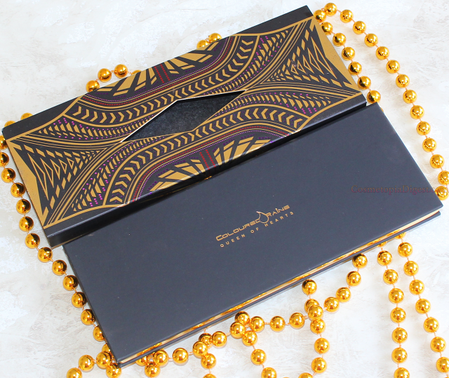 Coloured Raine Queen of Hearts Eyeshadow Palette Review, Swatches