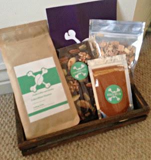 Coffee Chocolate an BBQ Gift Box Aqua