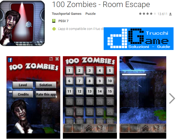 Soluzioni 100 Zombies di tutti i livelli | Walkthrough guide