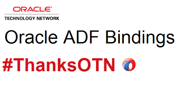 Oracle ADF Bindings