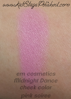 em michelle phan - The Life Palette- Party Life - Midnight Dance - Cheek