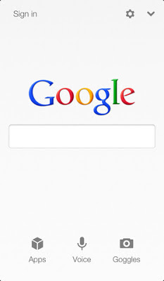 Google Voice Search for iOS