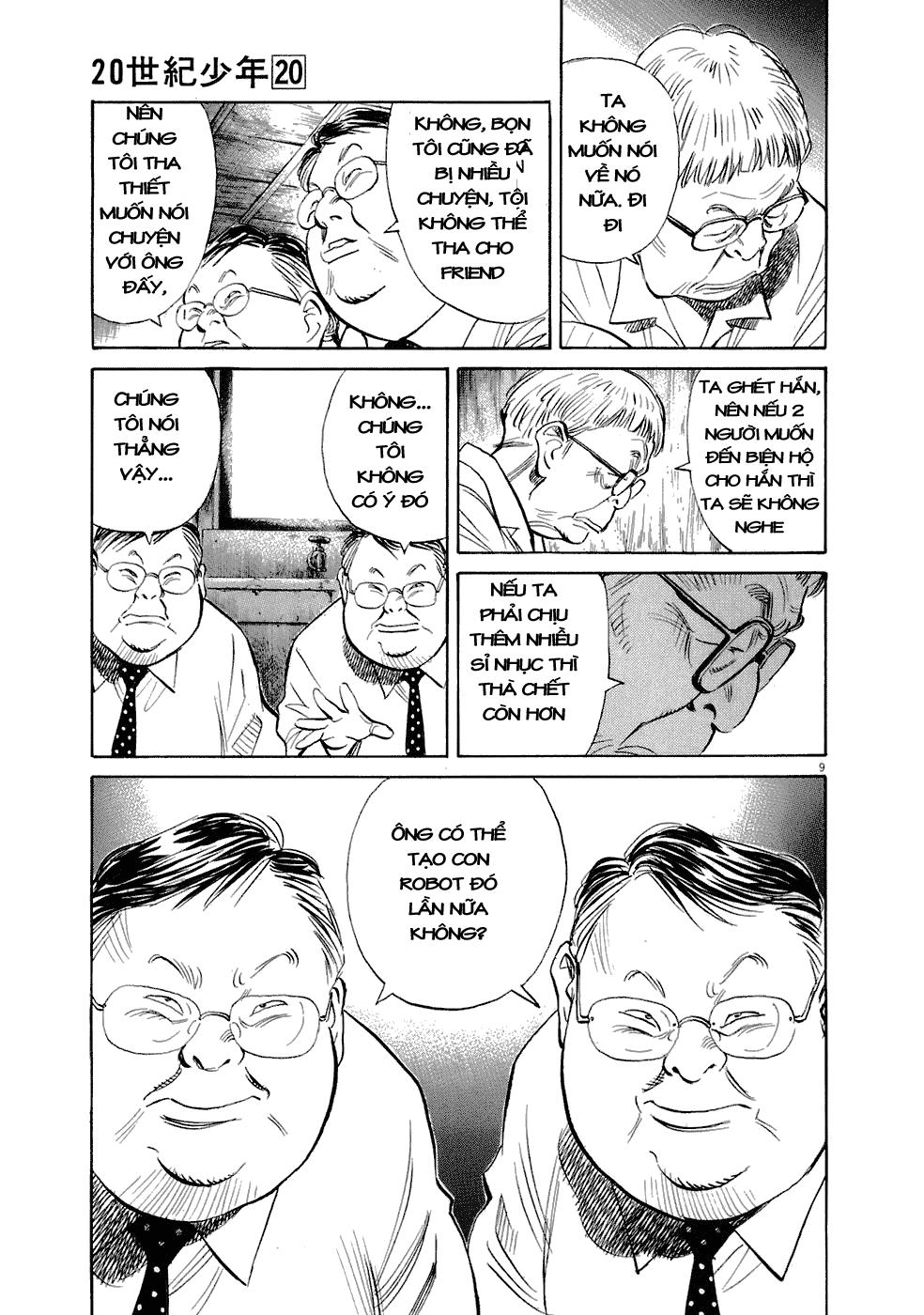 20th Century Boys chapter 224 trang 19