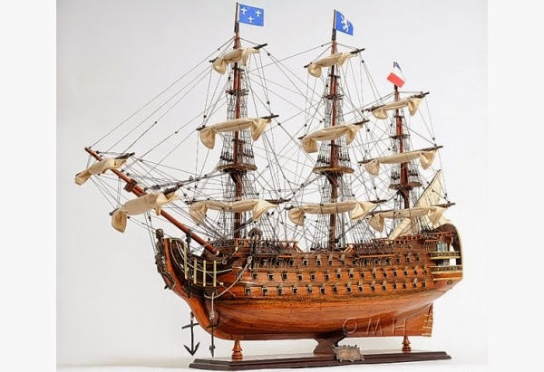 1700's Royal Louis Tall Ship