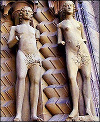 Adam and Eve of Bamberg