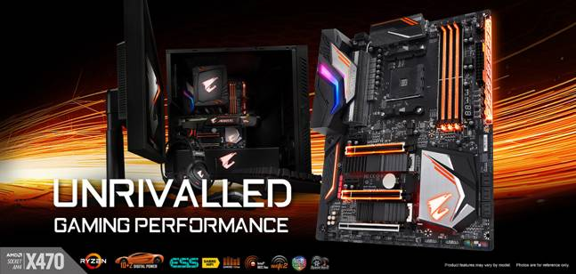 Aorus X470 Gaming Motherboards Released!